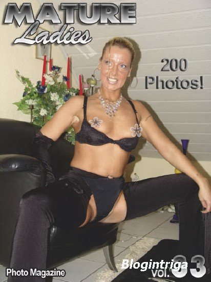 Mature Ladies Adult Photo Magazine - Volume 33 2019