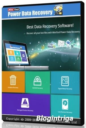 MiniTool Power Data Recovery 8.5 RePack & Portable by elchupakabra