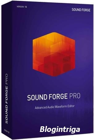 MAGIX SOUND FORGE Pro 13.0.0.124 RePack & Portable by elchupakabra
