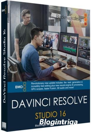 Blackmagic Design DaVinci Resolve Studio 16.1.1.5