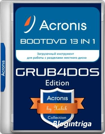 Acronis BootDVD Grub4Dos Edition 13in1 25.11.19