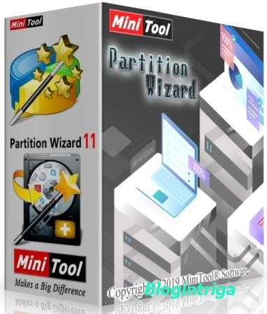 MiniTool Partition Wizard Enterprise 12.1 + Rus
