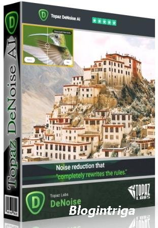 Topaz DeNoise AI 3.0.0 RePack & Portable by TryRooM